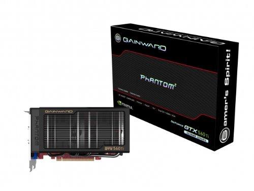 Gainward Nvidia GeForce GTX560 TI Phantom Grafikkarte (PCI-e, 2GB GDDR5 Speicher, Dual-DVI, HDMI, 1 GPU)
