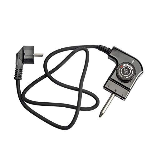 MIRTUX Cable para plancha de asar con termostato. Modelo CTW-300. Potencia 250 V 10A. Válida para diferentes modelos de las marcas: Jata, Princess, Fagor…