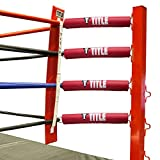 Title Boxing Ring Turnbuckle Cover (Set of 16), Red/White/Blue