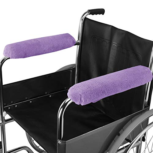 "Wheelchair Arm Rest Comfort Covers Wheelchair Arm Pads 14"" Moisture Wheelchair Armrest Pads Wicking Washable"