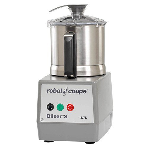 Robot Coupe Blixer 3 Single Speed Food Processor with 3.5 qt. Stainless Steel Bowl - 120V