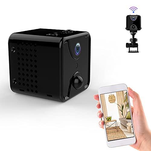 【4K 隠しカメラ 防犯監視カメラ 長時間録画 超小型隠しカメラ 170°広角 スマホ対応 動体検知 暗視機能 自動ウェイクアップ機能 180日待機 USB充電式 配線不要 屋外/屋内用 IOS/Android対応