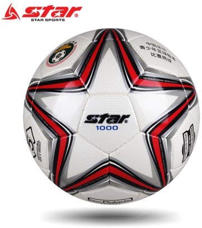 Original Star SB375 High Quality Standard Soccer Ball Training Balls Soccer Official Size 5 Size 4 PU Soccer Ball Free Shipping   SB375 SIZE5
