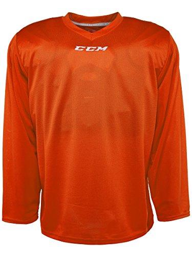 CCM 5000 Series Hockey Practice Jersey - Senior - Orange, Medium
