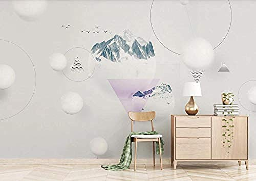 Wallpaper 3D Orb Landscape Wall Mural 3D Effect for Living Room and Bedroom Murals 3D Wallpaper Paste Living Room The Wall for Bedroom Mural-150cm×105cm