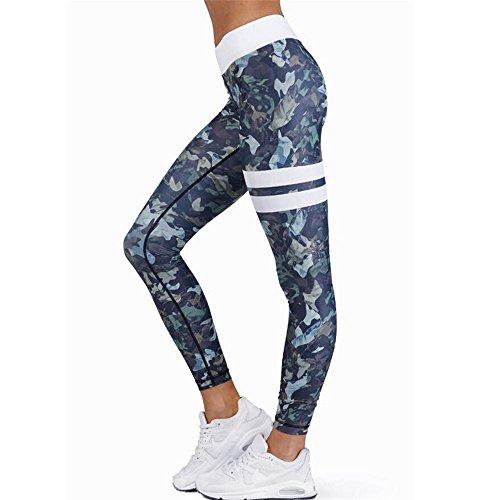 Leggings deportivos elásticos y transpirables Para Mujer, LILICAT Leggings de Fitnes Yoga Deportes de Alta Cintura, Pantalones deportivos (Multicolor, M)