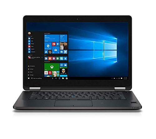 Dell Latitude E7470 Laptop Notebook Computer Intel Processor CPU Genuine Microsoft Windows 10 Professional 12 Months Warranty (Core i5, 8GB RAM, 500GB SSD) (Renewed)