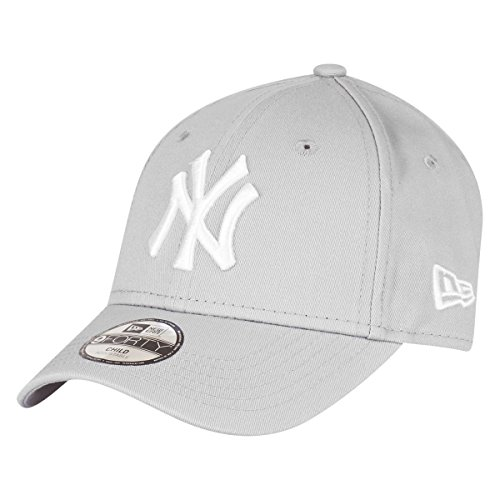 New Era 9Forty Stretched Kids Cap - NY Yankees grau - Youth