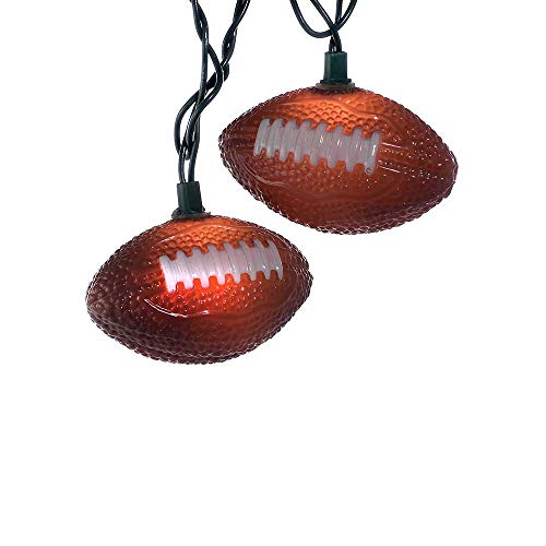 Kurt Adler UL1368 Football Light Set, 10 Light