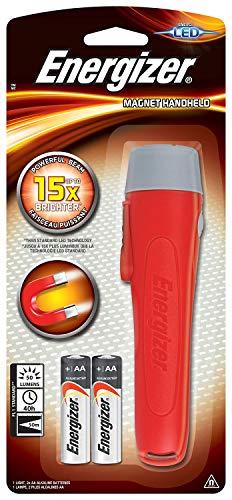 Energizer - Linterna LED magnética con 2x pilas alcalinas AA