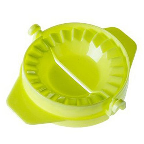 Dumpling Maker,Ravioli Dumpling Press Mould,Pierogi Pie Pastry Maker DIY Kitchen Gadget(7.511cm,Green)