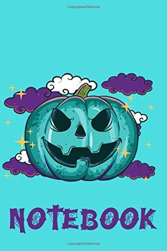 Notebook: Teal Pumpkin Halloween Treats Idea Kids Food Allergy Awareness Trick Or Treat Gift
