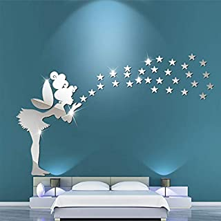 Best fairy mirror wall decal Reviews