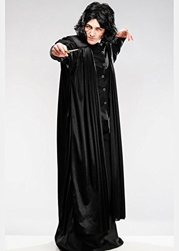 Magic Box Int. Erwachsene Professor Snape Style Kostüm mit Perücke