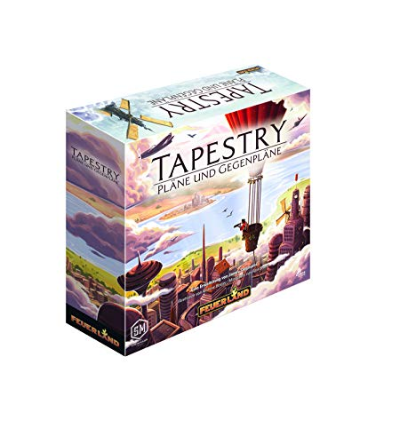 Feuerland Spiele Tapestry - Pläne und Gegenpläne, 31001