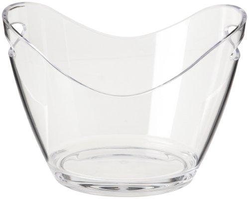 Prodyne G-2-C Vino Gondola Wine Bucket, Clear