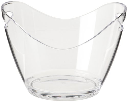 Prodyne - Cubeta para dos botellas, Transparente, 20.3 x 26.7 x 19.7 cm