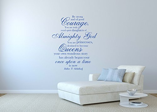 Wall Decals for Teen Girls, Christian Vinyl Lettering,