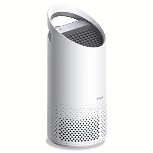 Leitz TruSens Purificatore d'Aria Z-1000, Lampada UV-C per Ridurre Virus e Batteri Presenti nell'Aria, Allergeni, Polvere e Cattivi Odori, per Ambienti di Piccole Dimensioni, fino a 23m², Bianco