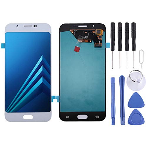 Vervangend LCD-scherm voor Samsung Galaxy A8 (zwart) Digitizer Full Assembly ForSamsungGalaxy, Regulable