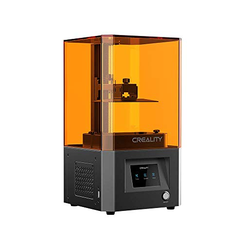 Upgrade Creality CL-60 LCD Resin 3D Printer with Air Filtering System and 3.5'' Smart Touch Color Screen Off-line Print 4.69' x 2.56' x 6.29' Printing Size