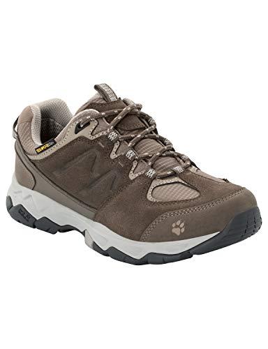 Jack Wolfskin MTN Attack 6 Texapore Low W Wasserdicht, Chaussures de Randonnée Basses Femme, (Coconut Brown/Grey 5222), 40.5 EU