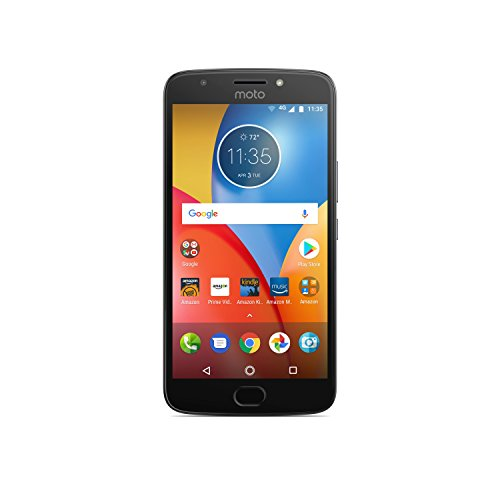 Moto E Plus (4th Generation) - 32 GB - Unlocked (AT&T/Sprint/T-Mobile/Verizon) - Iron Gray - Prime Exclusive - with Lockscreen Offers & Ads