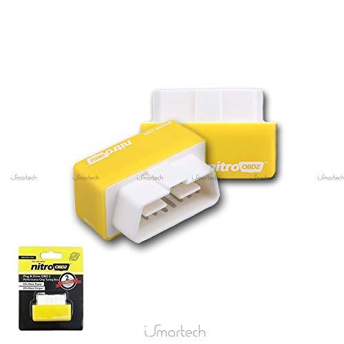 Nitro OBD2 / chip LPG optimizador de gasolina. 35% más de caballos de fuerza al freno y 25% más de par de torsión