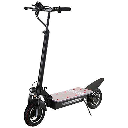 WLDOCA Scooter eléctrico para Adultos y Adolescentes, Plegado fácil y lleve el diseño, Ultra Ligero Scooter E con Asiento Ajustable