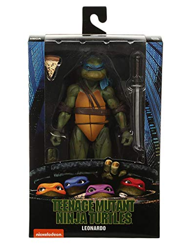 NECA Teenage Mutant Ninja Turtles (1990 Movie) 7' Action Figure Set of 4