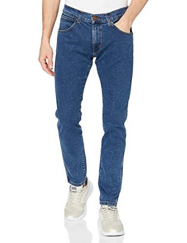 Wrangler Bryson Jeans, Blast Blue, 34W x 34L Uomo