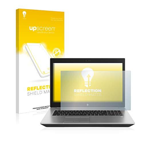 upscreen Entspiegelungs-Schutzfolie kompatibel mit HP ZBook 17 G5 – Anti-Reflex Bildschirmschutz-Folie Matt