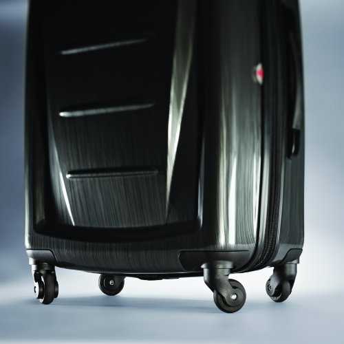 Samsonite Winfield 2 Hardside Luggage, Charcoal, Checked-Large