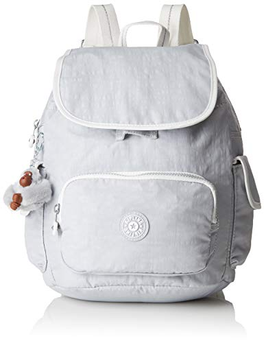 Kipling Damen City Pack S Rucksack Grau (Active Grey Bl)