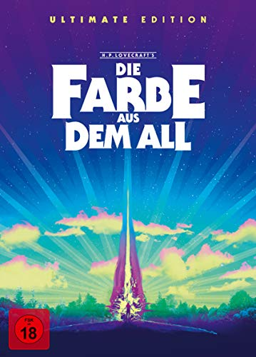 Die Farbe aus dem All - Color Out of Space (Ultimate Edition, 4K Ultra HD+5 BRs+CD) [Blu-ray]
