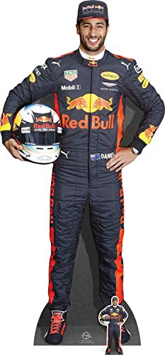 Star Cutouts Ltd Daniel Ricciardo, Pappe, Mehrfarbig, 178 x 85 x 178 cm