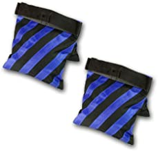 PBL Sandbag Heavyduty Saddlebag Design 2 Bags Holds 20lbs of Sand New Steve Kaeser Photographic Lighting