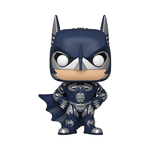 Funko Pop! Heroes – Batman 80th Figurina de Colección Batman 1997, 10″, Color Multicolor, Paquete de 1