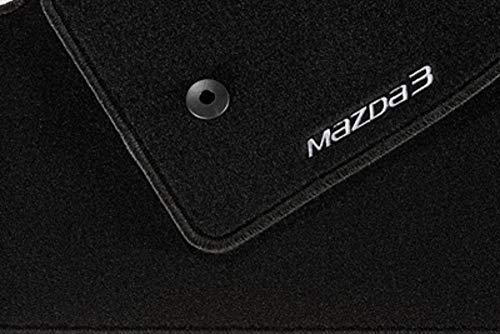 Mazda 3 BN BM Luxury - Alfombrillas textiles para coche