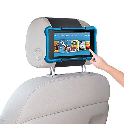 Car Headrest Holder WANPOOL Car Headrest Mount for Kindle Fire Tablet 7Inch / Fire HD 8 / Fire HD 10 / Kindle Fire HD 7Inch and Other Tablets, Black