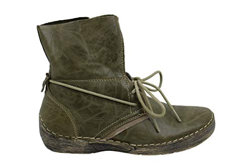 Bernie Mev Womens Hanzel Closed Toe Ankle Fashion Boots, Moss, Size 6.5