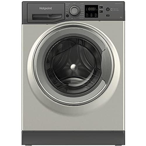 Hotpoint NM11 945 GC A UK N Freestanding ActiveCare Washing Machine 9KG, 1400RPM, Graphite