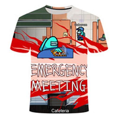 Valley Kids und Adult Unisex Gaming T-Shirts Among us T-Shirts Lustige T-Shirts