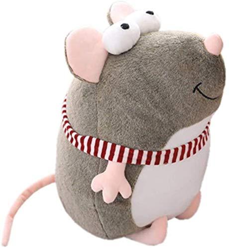 Animales de peluche y juguetes de peluche Mascota Ojos grandes Mouse Lindo Peluche Toys Bufandas Muñecas Muñecas para niños Muñecas de almohada Máquina agarrada Muñecas Muñecas Regalos de evento (Tama