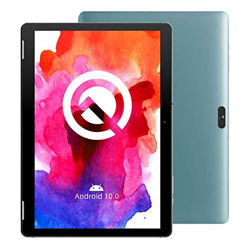 Tablet 10 Zoll, Android 10.0, Winnovo TS10, Quad-Core Prozessor, 2GB RAM, 32GB ROM, HD IPS Dispaly, 5MP+8MP Camera, WiFi Bluetooth GPS FM, Blau