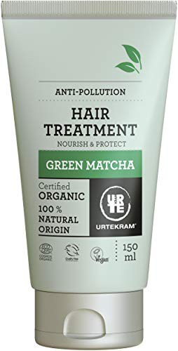 Mascarilla para el pelo Urtekram Green Matcha Hair Treatment Organic, Nourish and Protect, 150 ml