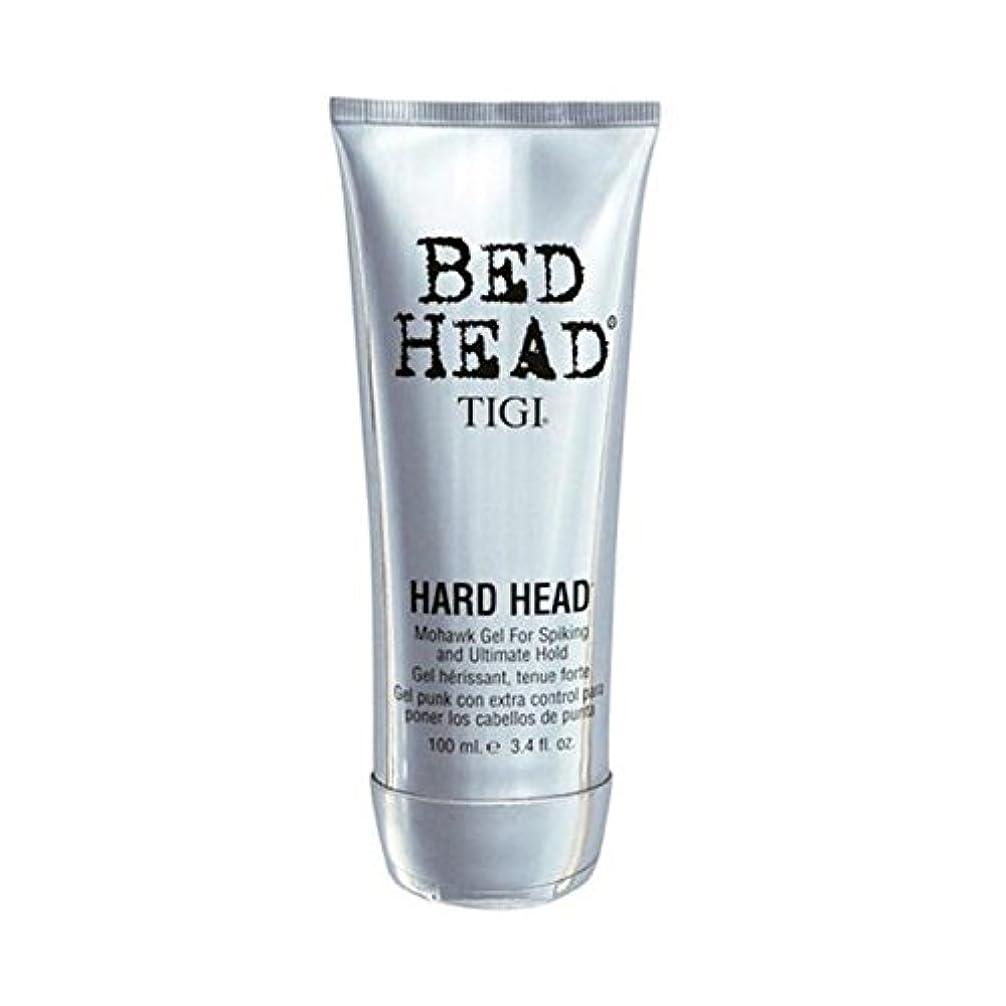 プラスリマークアルファベットティジーベッドヘッドハードヘッドモヒカンゲル(100)に x4 - Tigi Bed Head Hard Head Mohawk Gel (100ml) (Pack of 4) [並行輸入品]