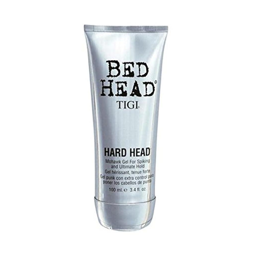 渦日遠征ティジーベッドヘッドハードヘッドモヒカンゲル(100)に x4 - Tigi Bed Head Hard Head Mohawk Gel (100ml) (Pack of 4) [並行輸入品]