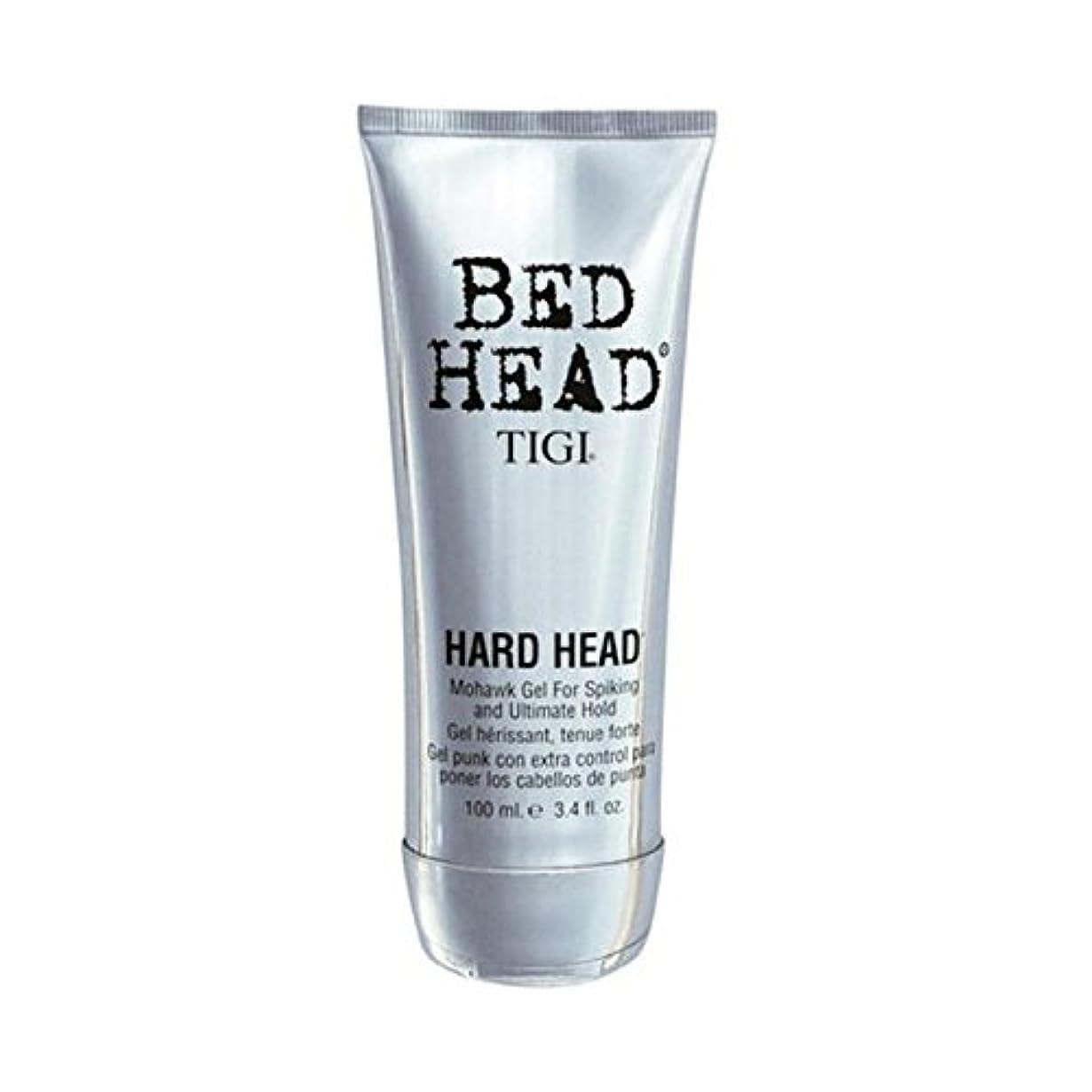 立場境界ワーディアンケースTigi Bed Head Hard Head Mohawk Gel (100ml) - ティジーベッドヘッドハードヘッドモヒカンゲル(100)に [並行輸入品]