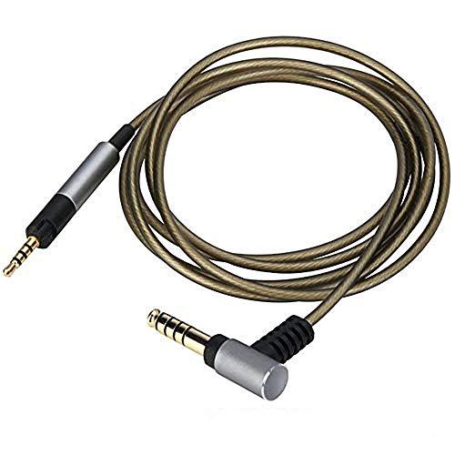 gotor HD598 HD599 HD558 HD595 HD569 HD579 HD518 交換用 ヘッドホンケーブル 銀メッキ リケーブル 4.4MMコネクタ-2.5MM バランスケーブル